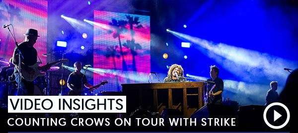 Video Insights: Counting Crows On Tour With STRIKE